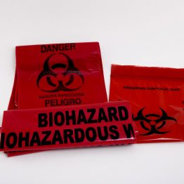 Bio Hazard Bag (resealable)